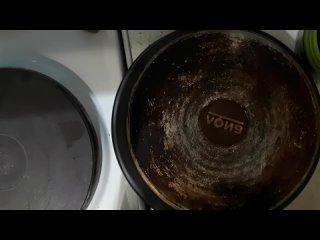 Салфетка для посуды против ну очень старого нагара