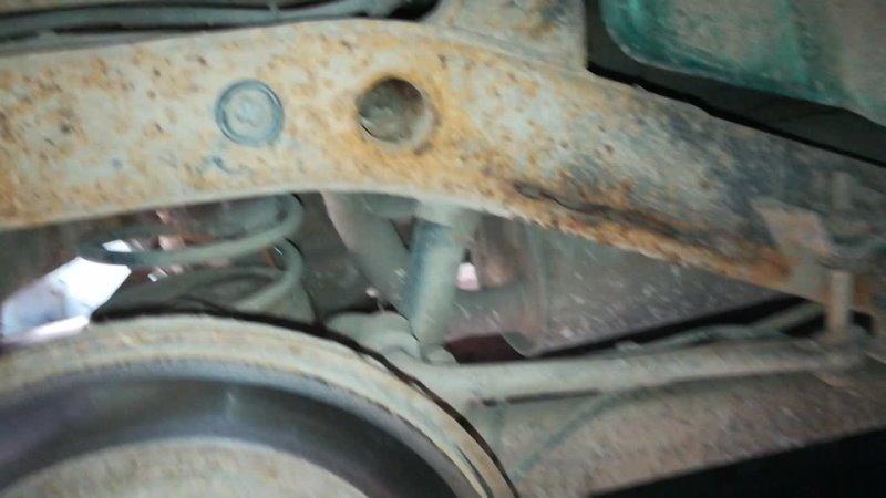 Mitsubishi сквозная коррозия рамы до