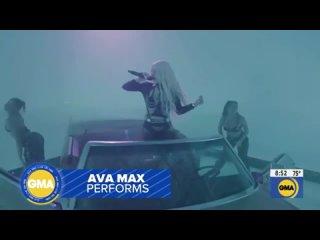 Ava Max - My Head & My Heart (Live at Good Morning America)