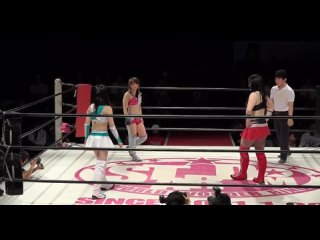 Alex Lee vs. Arisu Nanase vs. Hiromi Mimura
