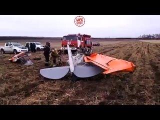 Падение легкомотора в Иркутской области