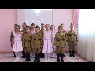 """Видео """"Детский сад 198"""" Песня """"Катюша"""""""