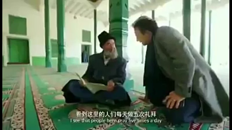 Turkish reporters finally managed to show footage of large Uighur concentration camps