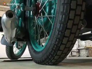 Полная реставрация старого советского мотоцикла. Смотрится на одном дыхании