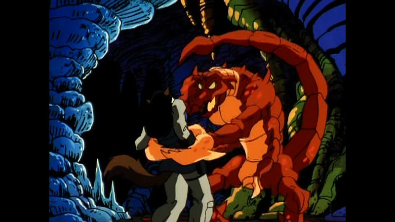 Коты быстрого реагирования Swat Kats The Radical Squadron Пещеры ужаса 8 Серия 2 Сезон