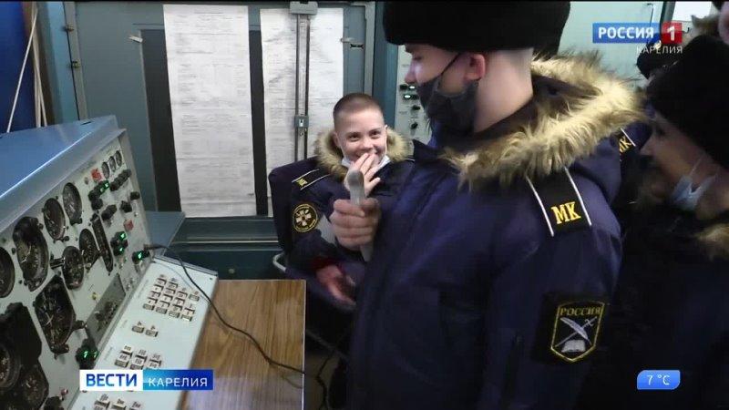 Кадеты Карельского кадетского корпуса побывали на экскурсии в гарнизоне Бесовец