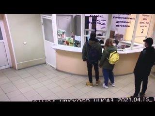 В Люберцах мужик не выдержал медлительности работников Почты России (480p).mp4