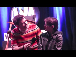 David Tennant Brings A Kid On Stage (Madison Wizard World 2016)