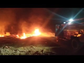 г. ДПК Воскресенка на ЗИЛ 130 АЦ 40 пожар трасса Самара - Чапаевск