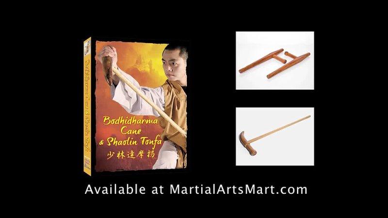 The Bodhidharma Cane Shaolin Tonfa
