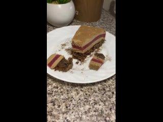 Шоколадно-клубничный муссовый торт - shevtsova_lilia