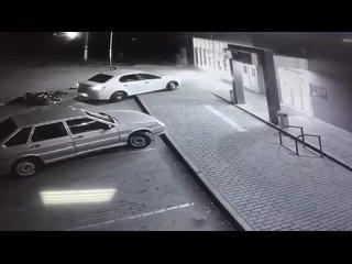 Видео с ДТП в станице Милютинской  Регион 61