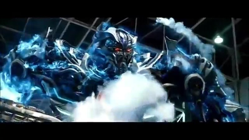 Битва Трансформеров Мегатрон против Гальватрона