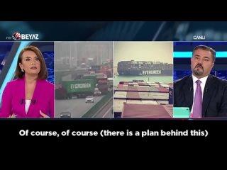 The Secret Contents of Ever Given - Evergreen Container Ship - Kaan Sariaydin - Mavi