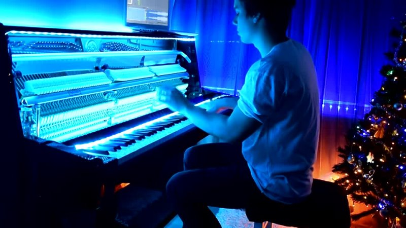 Frozen - Let It Go (Piano cover) by Peter Buka.webm