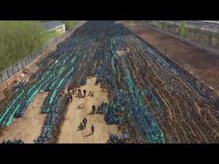 Вот куда отправляются сломанные велосипеды в Китае