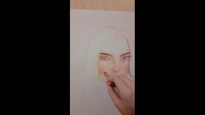 Рисуем я и моя вторая личность