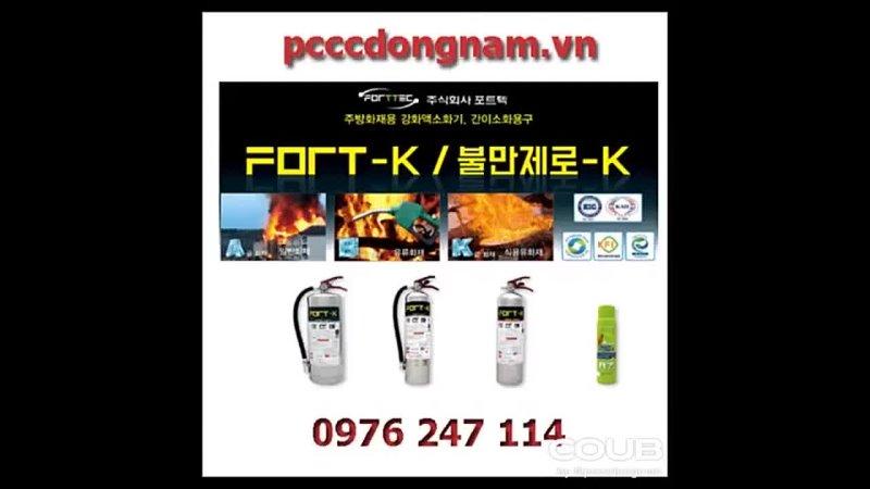 Giá 4 loại bình chữa cháy tốt nhất và rẻ nhất hiện nay chỉ có tại pcccdongnamvn