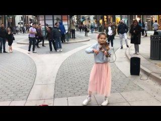 Bad Guy - Billie Eilish  Violin Street performance