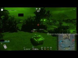 WoT 2.0 – система бронирования, стрельба из пулемёта в дыры от основного орудия
