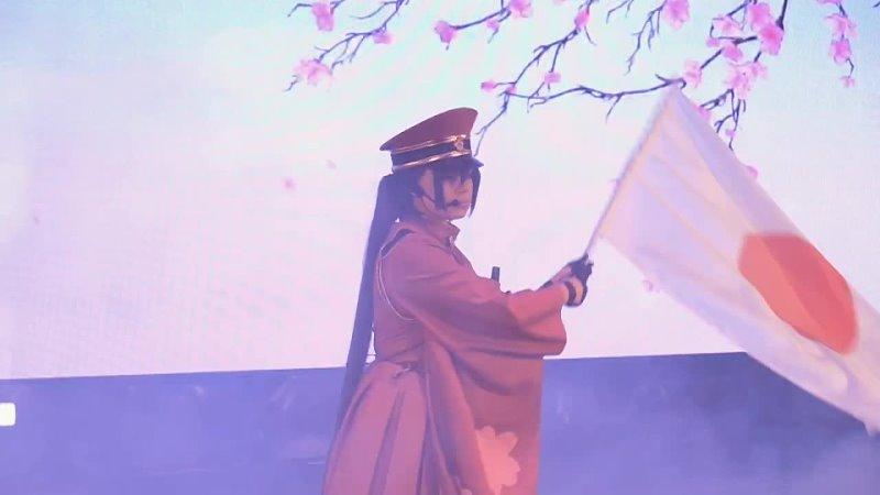 Senbonzakura Miku cosplay