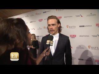 ET Canada  Sam Heughan Talks 'Outlander' Season 2  январь 2016 LA BAFTA