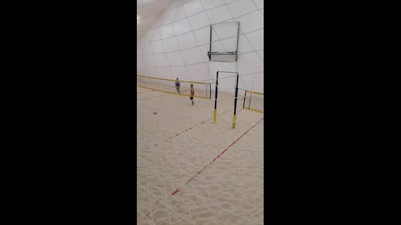 Пляжный волейбол футбол Пк дельта