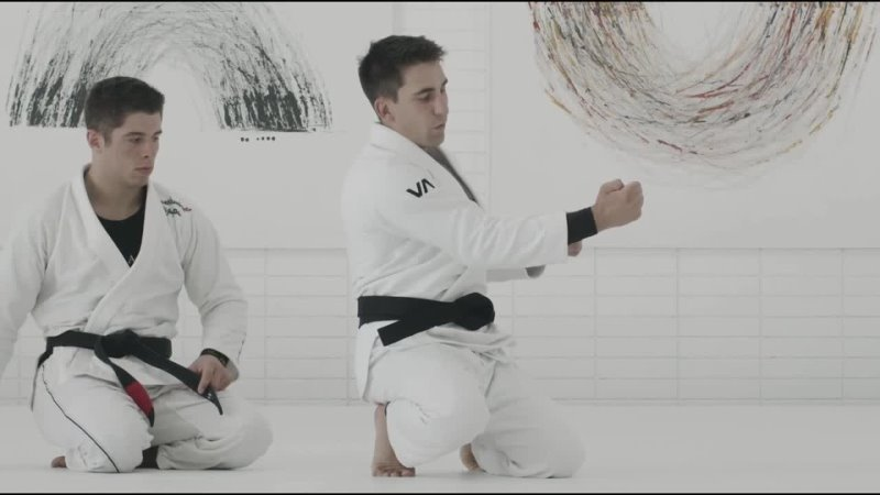 GUI MENDES 2 COLLAR CHOKE FROM FRONT HEADLOCK POSITION