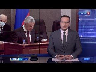 Артур Парфенчиков выступил в парламенте Карелии с отчетом о результатах работы правительства