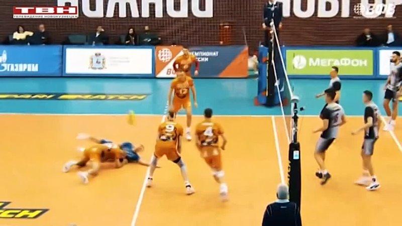 Волейболисты Кузбасса вышли в полуфинал чемпионата России