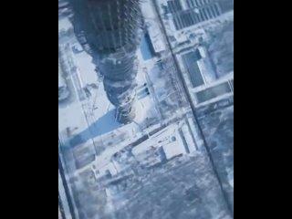 Прыжок с Останкинской башни