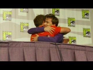 David Tennant at Comic Con - Kiss to Barrowman