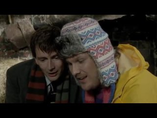David Tennant and Marc Wootton in Nativity 2 - bloopers