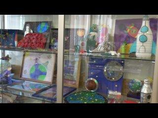 Выставка детских творческих работ, посвященная Дню космонавтики и 60-летию полета в космос первого космонавта Ю.А. Гагарина.