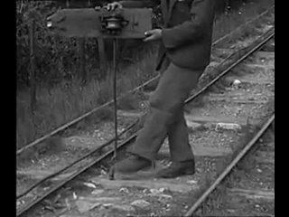 Устройство, которое в 1935г. использовали работники для быстрого перемещения с горы.