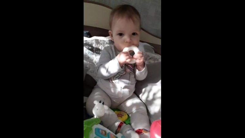 Агата 9 месяцев