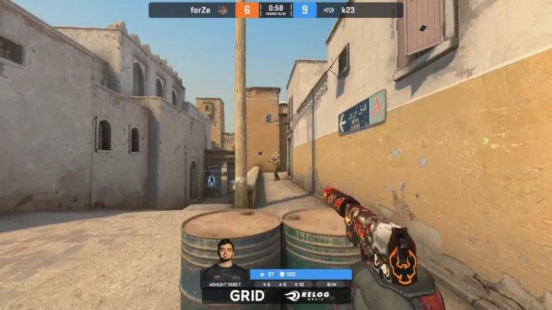 N0rb3r7 4K vs forZe @ Dust2