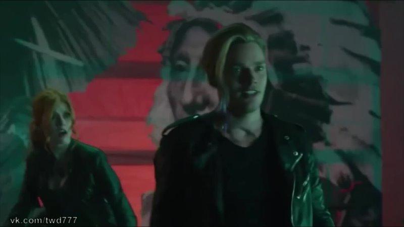 Сумеречные охотники 1 сезон Поездка Джейса и Клэри на вампирском мотоцикле