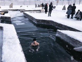 Крещение господне 2021г❄️(-16° не страшит).mp4