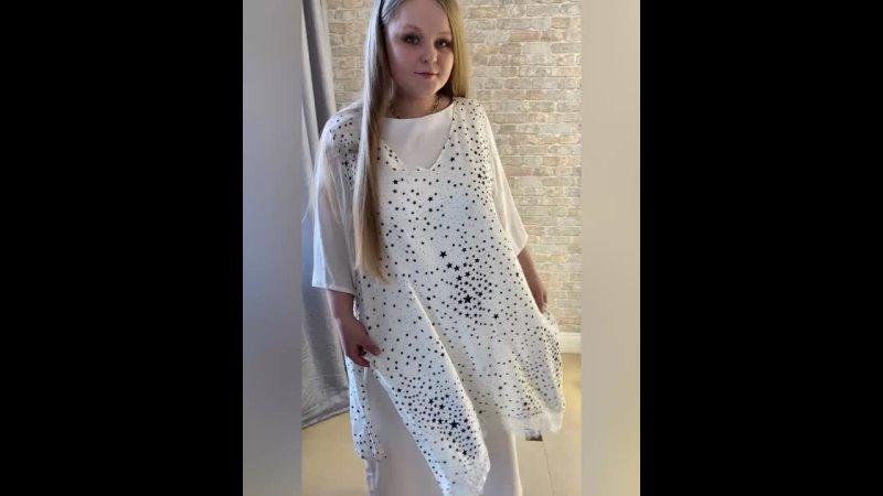 ОБЗОР Платье двойное