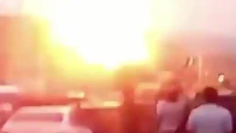 Взрыв на АЗС в Душанбе