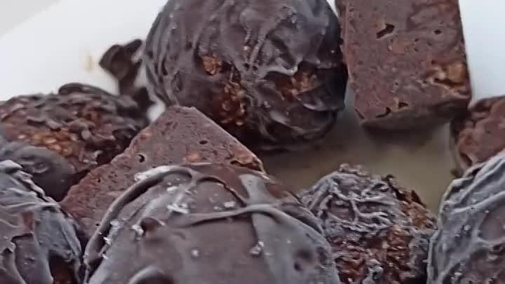 как сделать конфеты дома!