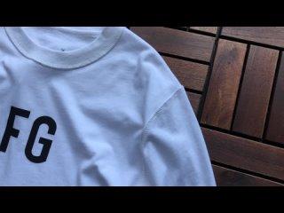 Обзор на Футболку с длинным рукавом FOG & FEAR OF GOD 6TH LOGO long T-shirt FG
