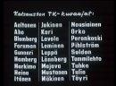 Зимняя война 1939 - 1940 Финляндия 2007 Главная › Финская война › Зимняя война 1939 - 1940 Финляндия 2007 Рейтинг материала 4.1 Голосов 11 12345 Зимняя война 1939 - 1940 производство Финляндия Существует мнение, что Сталин планировал в результате победоносной войны включить Финляндию, которая входила в сферу интересов СССР согласно секретному дополнительному протоколу к Договору о ненападении между Германией и Советским Союзом, в состав СССР, а переговоры с заведомо неприемлемыми для тогдашнего правительства Финляндии условиями проводились лишь для того, чтобы после их неизбежного срыва был повод объявить войну. В частности, желанием присоединить Финляндию объясняется создание в декабре 1939 года Финляндской Демократической Республики. Кроме того, предоставленный Советским Союзом план по обмену территориями предполагал передачу в состав СССР территорий за «Линией Маннергейма», таким образом открывая прямую дорогу для советских войск на Хельсинки. Заключение мира могло быть вызвано осознанием факта, что попытка насильственной советизации Финляндии натолкнулась бы на массовое сопротивление финского населения и опасностью англо-французской интервенции в помощь финнам. В результате Советский Союз рисковал быть втянутым в войну против западных держав на стороне Германии. Первый фильмы из цикла фильмов о войнах Финляндии с СССР. Без перевода, пользуется много вырезок хроники из еженедельных кино обзорных новостей 1939 года.