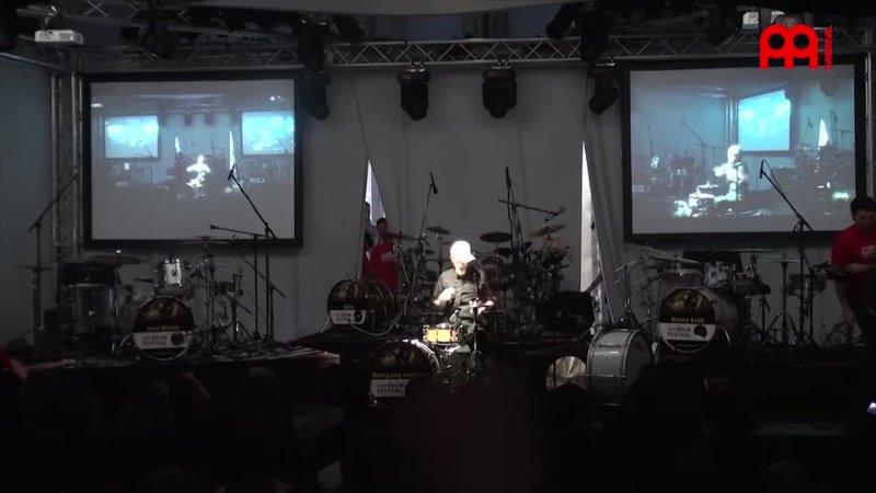 MEINL DRUM FESTIVAL 2012 Onkel feat Danny Greb