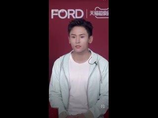 Tom Ford Beauty Livestream - - ZhangZhehan - - Love it when he sings!