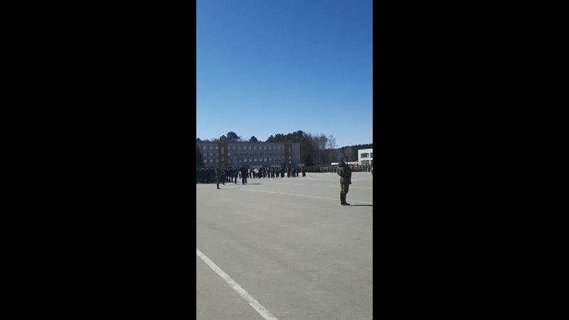 парадные тренировки кадет
