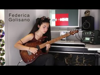 The Best of Times - Dream Theater -  Guitar solo - Federica Golisano 15 Years OLD Dr. Viossy Version