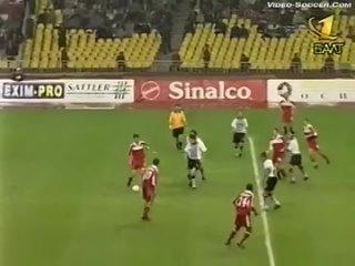 СПАРТАК - Партизан (Белград, Югославия) 2-0, Лига Чемпионов - 1999-2000 3 квал.раунд
