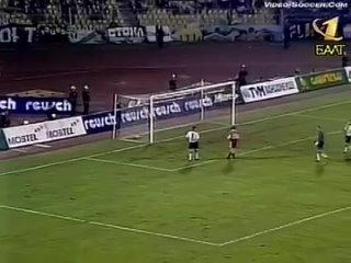 Партизан (Белград, Югославия) - СПАРТАК 1-3, Лига Чемпионов - 1999-2000, 3 Квалификационный раунд